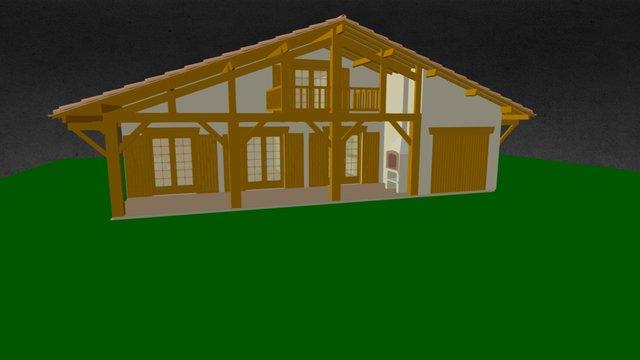 EDL - LANDAISE DU BASSIN 3D Model