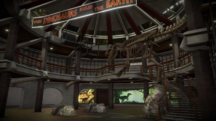 Jurassic Park Rotunda 3D Model