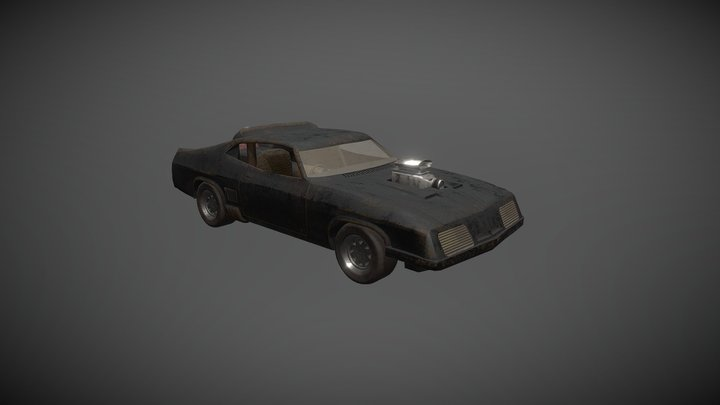 Interceptor - Mad Max's car 3D Model