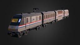4558 Metroliner with 4547 Club Car 3D Model
