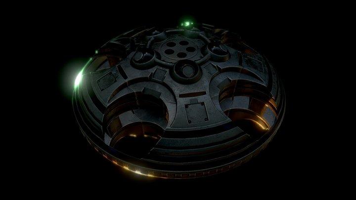 UFO Type 2 3D Model