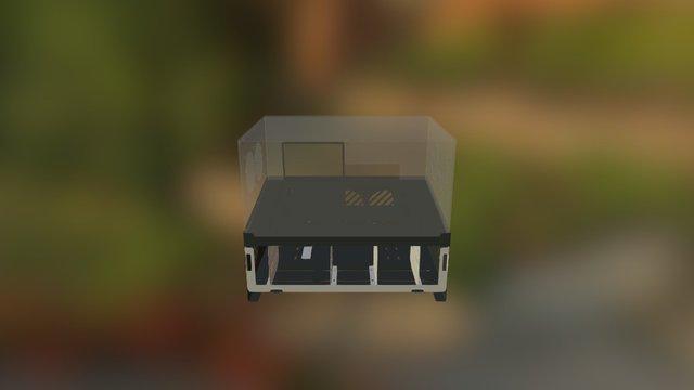 Vector BenchCase 3D Model