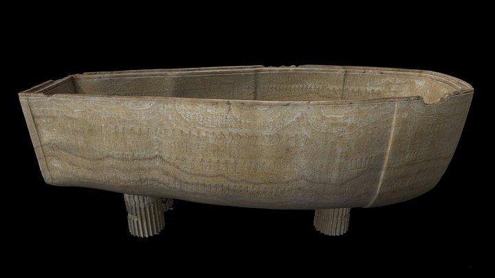 Sarcophagus of Seti I 3D Model