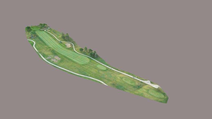 St. Clair Shores Golf Course - Hole #16 3D Model