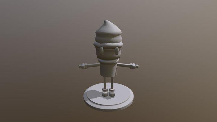 Icecream 3D Model