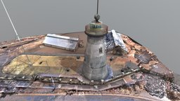 The Old Windmill Existing 2017 3D Model