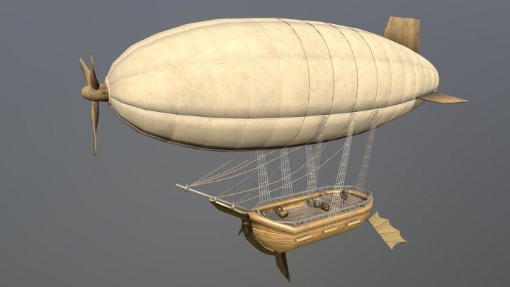 [Vehicle] Flying Ship 3D Model