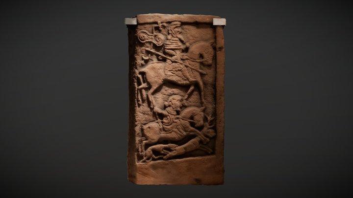 'Kirriemuir 2' Pictish cross-slab 3D Model