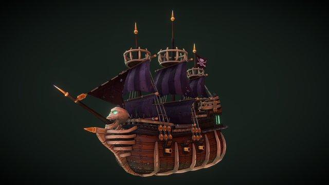 The Black Flag 3D Model