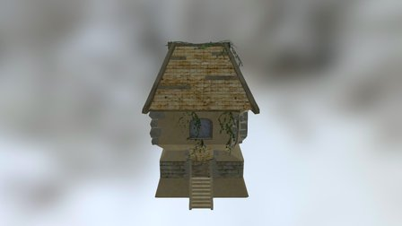 Ruinedhouse_1 3D Model