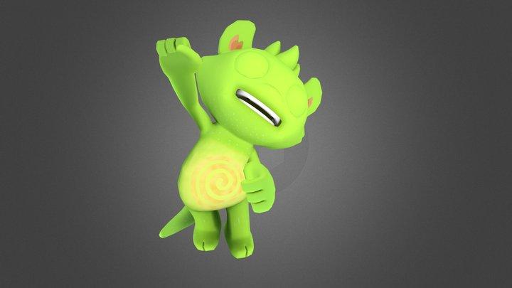 Phonzy Jump Yipee 3D Model