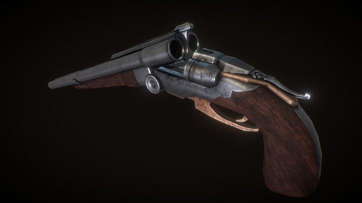 Downloadable SUPER SHOTGUN 3D Model