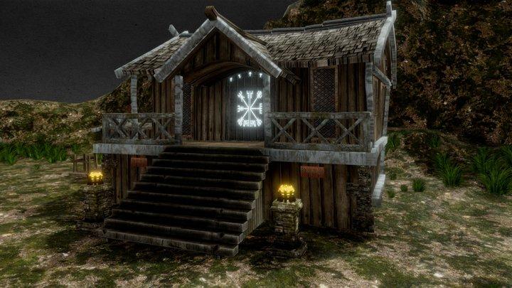 Viking Scene 3D Model
