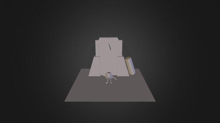 Mike Wazowski Texture   3D Model