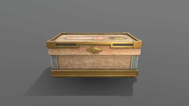 Hieroglyphic Large Box 3D Model