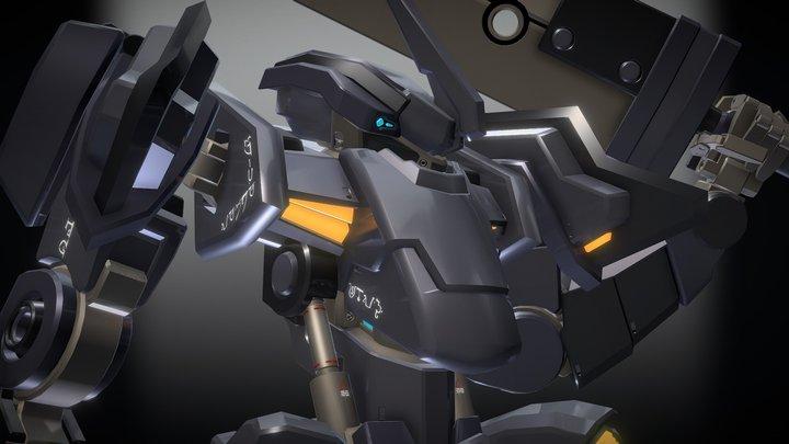 Mecha - Armatus Nocte 3D Model