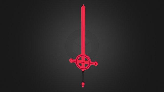 Demon Blood Sword 3D Model