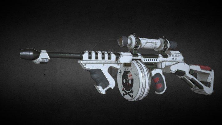 Thompson sci-fi gun 3D Model