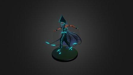 La Dama Tapada 3D Model