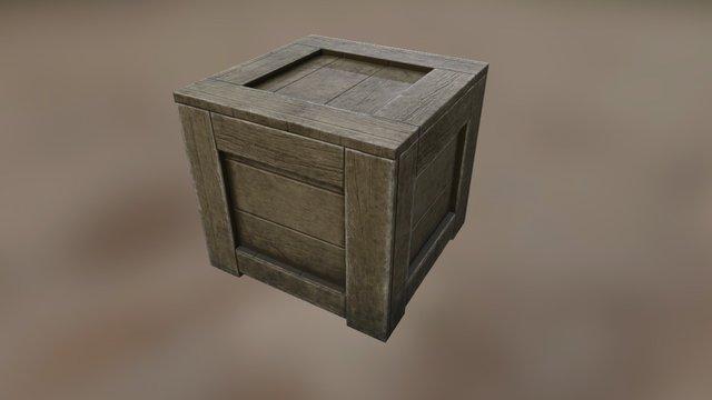 Basic Crate 3D Model