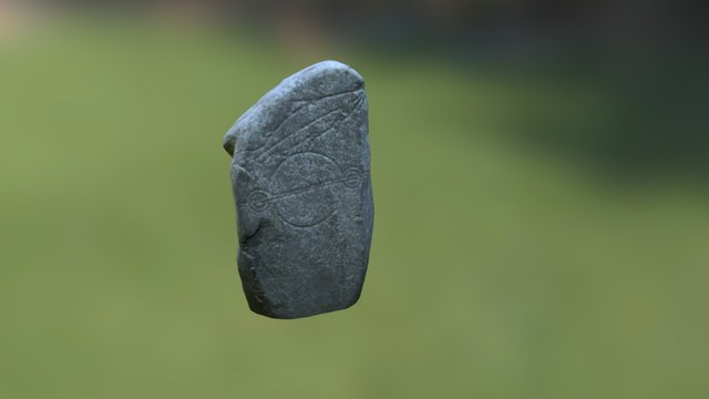 Kintore Pictish Stone 3D Model