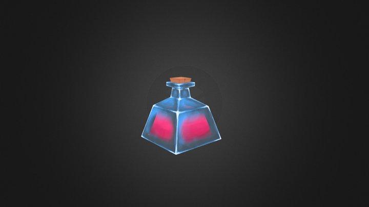 Lowpoly Potion 3D Model
