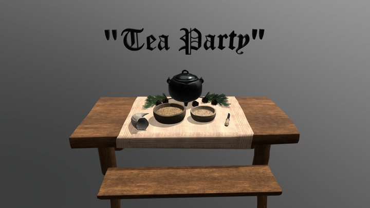 Compulsory Assignment 2: Tea Party 3D Model