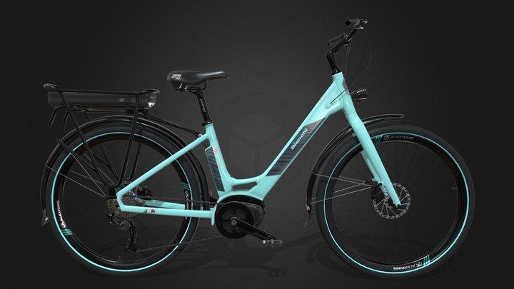 Bianchi Long Island e-bike 3D Model