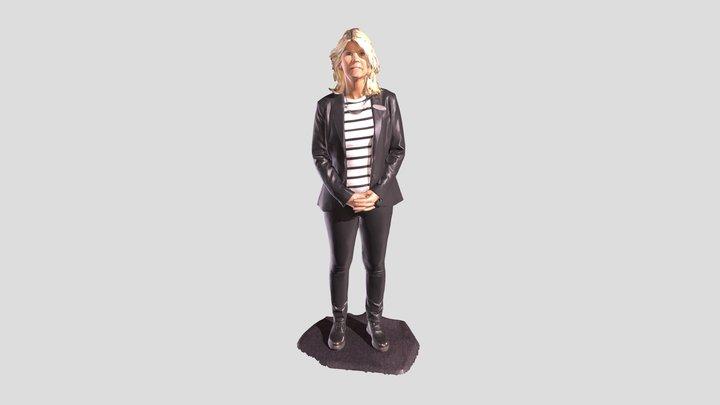 Mrs. Nordin 3D Model