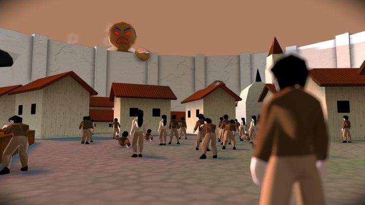 Gingerbread | #3December 3D Model