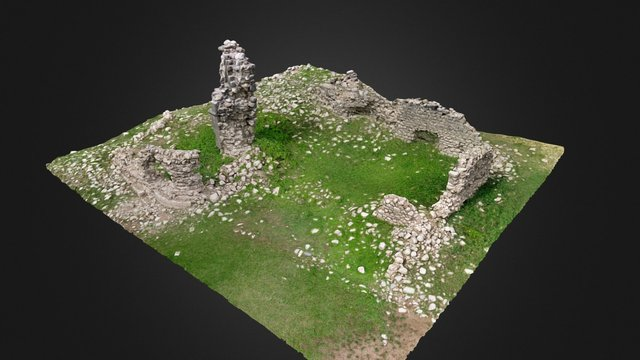 Monestir de Lavaix 3D Model