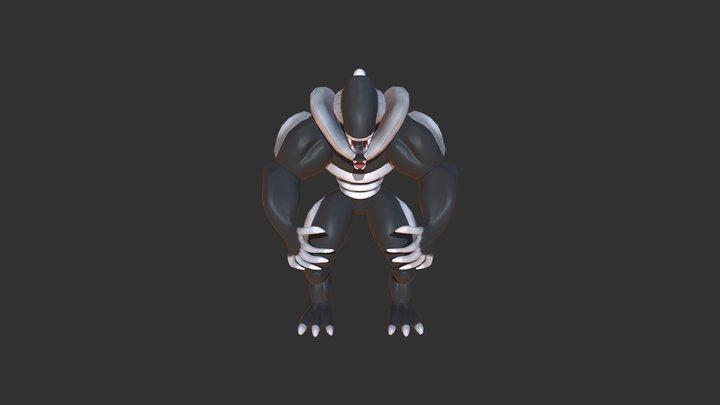 Disney Infinity Xenomorph 3D Model