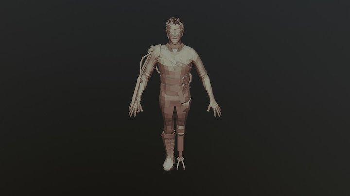 Isaac 3D Model