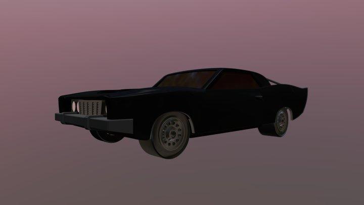 Batmobile - The Batman 3D Model