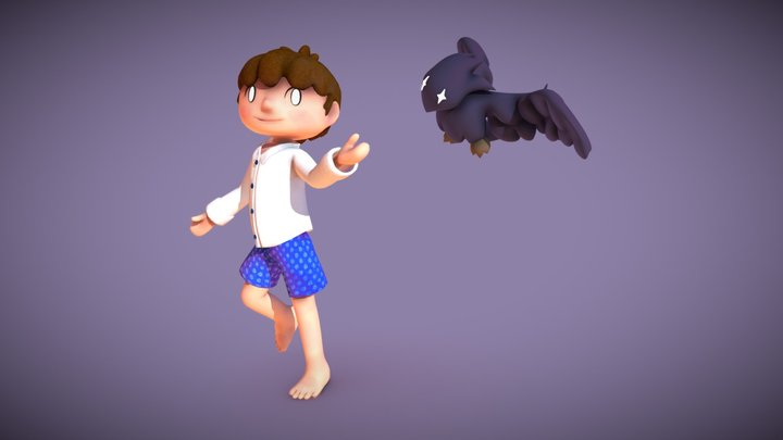 Mike - Forest Boy 3D Model