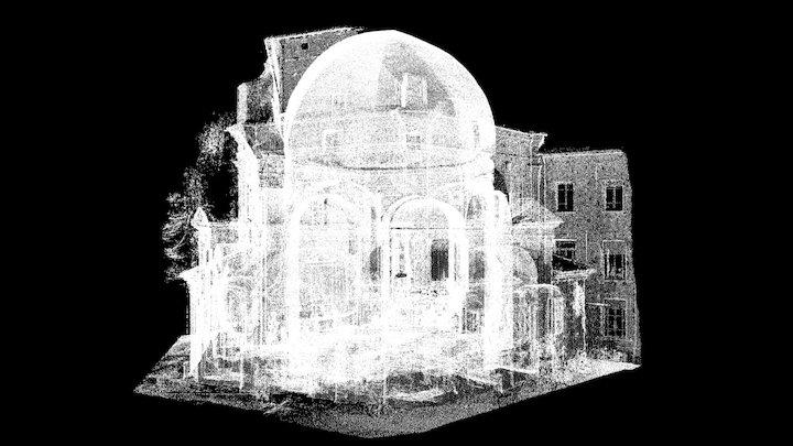 S Maria Quartiere Parma 3D Model