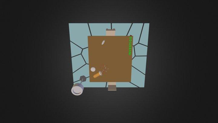 The Investig8 Scene - Celena Fields Ims 201 C 3D Model