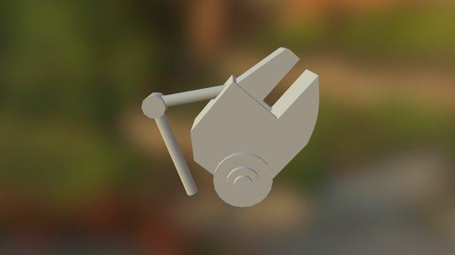 Prop Claw 3D Model