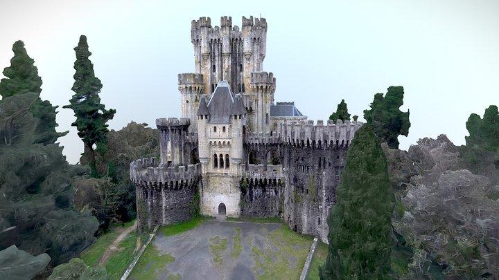 Butron castle 3D Model