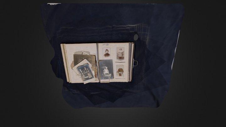 19th Century Photo Album 3D Model