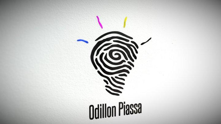 Personnel logo - Odillon Piassa 3D Model