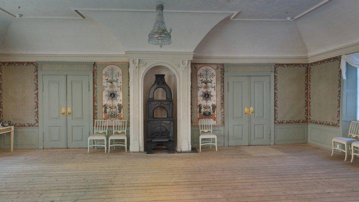 Ballsalen på Frogner hovedgård 3D Model