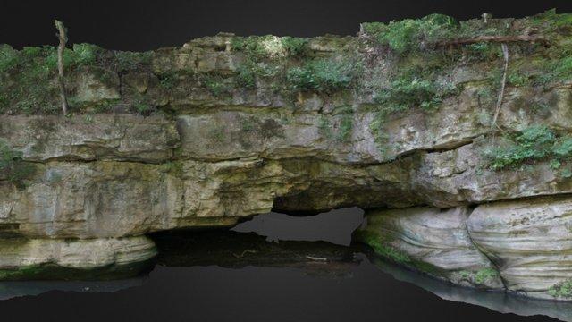 Franklin Creek - Whipple's Cave 3D Model