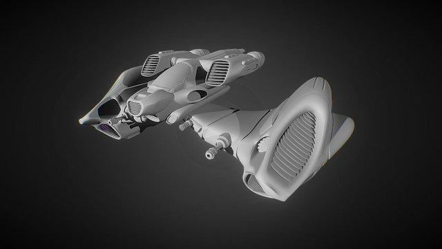Alpha Mantis V01 3D Model
