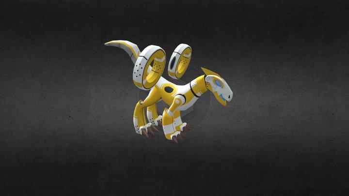 Rocket Dragon 3D Model