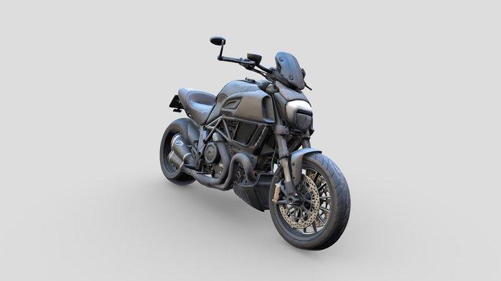 Ducati Diavel 3D Model