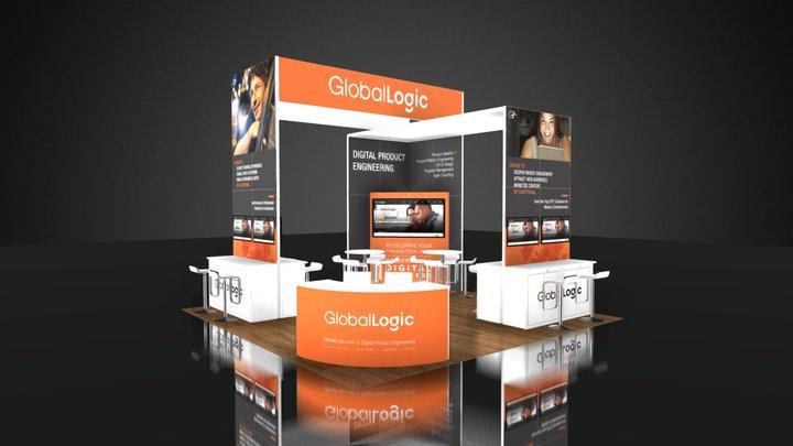 GLOBAL LOGIC GRAPHICS 3D Model