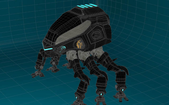 spidermech 3D Model