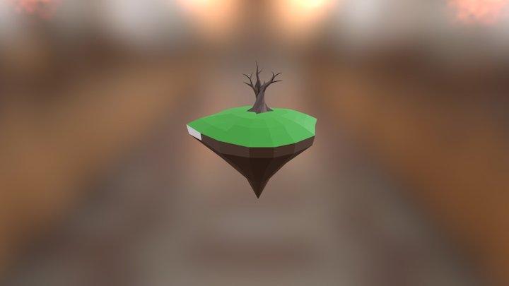 Treeonisland 3D Model