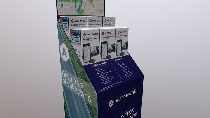 Automatic Display 3D Model